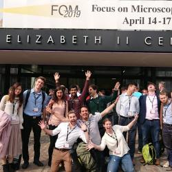 The LAG and MNG attend Focus on Microscopy 2019