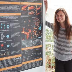 Former Group Member, Lucia Wunderlich, wins Molecular Medicine Conference Poster Prize