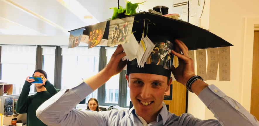 Nathan Curry passes his viva!